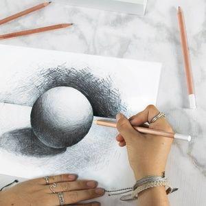 Office - Artist Graphite Pencils